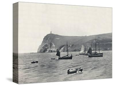 'Port Erin - Bradda Head, with the Milner Tower', 1895-Unknown-Stretched Canvas Print