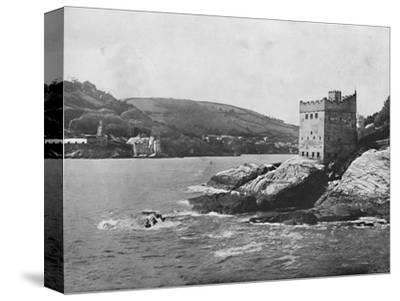 'Dartmouth - Dartmouth and Kingswear Castles', 1895-Unknown-Stretched Canvas Print