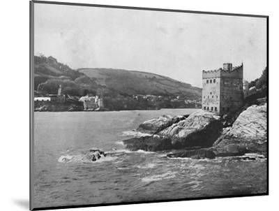 'Dartmouth - Dartmouth and Kingswear Castles', 1895-Unknown-Mounted Photographic Print