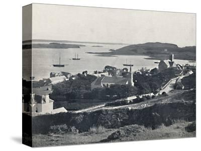 'Killybegs - Looking Over the Village and the Bay', 1895-Unknown-Stretched Canvas Print