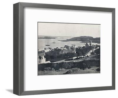 'Killybegs - Looking Over the Village and the Bay', 1895-Unknown-Framed Photographic Print