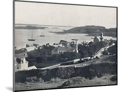 'Killybegs - Looking Over the Village and the Bay', 1895-Unknown-Mounted Photographic Print