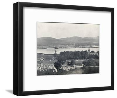 'Warrenpoint - From Omeath, on the Opposite Side of Carlingford Lough', 1895-Unknown-Framed Photographic Print