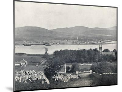 'Warrenpoint - From Omeath, on the Opposite Side of Carlingford Lough', 1895-Unknown-Mounted Photographic Print