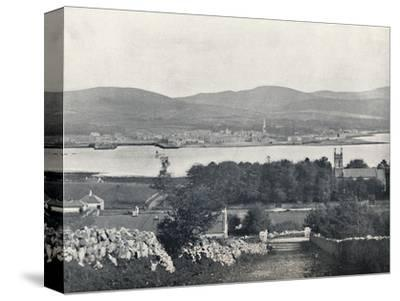 'Warrenpoint - From Omeath, on the Opposite Side of Carlingford Lough', 1895-Unknown-Stretched Canvas Print