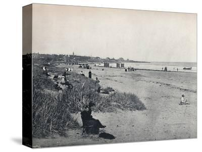 'Carnousetie - The Town and the Beach', 1895-Unknown-Stretched Canvas Print