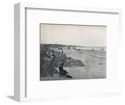 'Carnousetie - The Town and the Beach', 1895-Unknown-Framed Photographic Print
