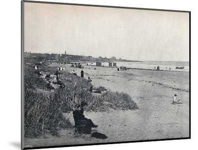 'Carnousetie - The Town and the Beach', 1895-Unknown-Mounted Photographic Print