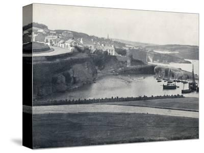 'Dunmore - The Town and the Harbour', 1895-Unknown-Stretched Canvas Print