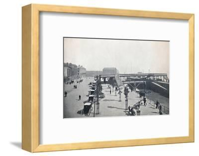 'Hull - The Pier and Front', 1895-Unknown-Framed Photographic Print