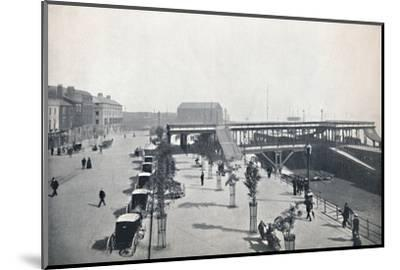 'Hull - The Pier and Front', 1895-Unknown-Mounted Photographic Print