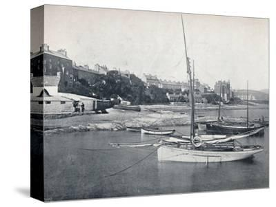 'Port St. Mary - The Town and Harbour', 1895-Unknown-Stretched Canvas Print