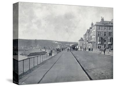 'Penzance - The Esplanade', 1895-Unknown-Stretched Canvas Print