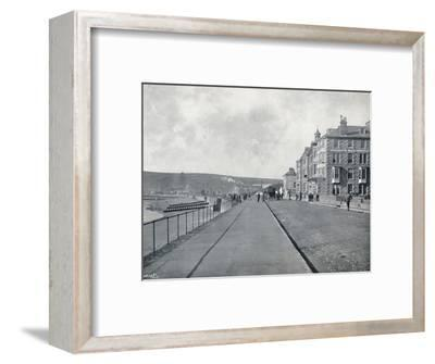 'Penzance - The Esplanade', 1895-Unknown-Framed Photographic Print