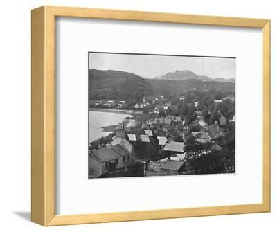 'Gareloch-Head - From the Hills', 1895-Unknown-Framed Photographic Print