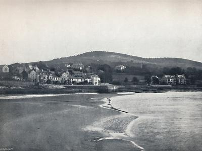 'Arnside - From North End, Carnforth', 1895-Unknown-Framed Photographic Print