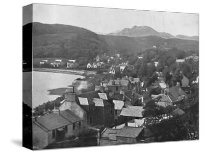 'Gareloch-Head - From the Hills', 1895-Unknown-Stretched Canvas Print