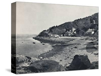 'Torquay - The Beach, Babbicombe', 1895-Unknown-Stretched Canvas Print