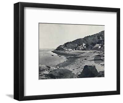 'Torquay - The Beach, Babbicombe', 1895-Unknown-Framed Photographic Print