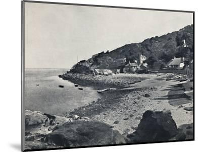 'Torquay - The Beach, Babbicombe', 1895-Unknown-Mounted Photographic Print