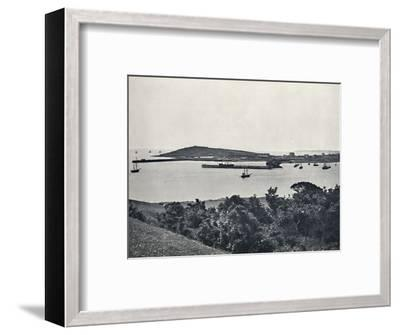 'Falmouth - General View, from Pendennis', 1895-Unknown-Framed Photographic Print