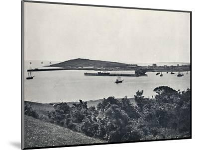 'Falmouth - General View, from Pendennis', 1895-Unknown-Mounted Photographic Print