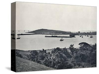 'Falmouth - General View, from Pendennis', 1895-Unknown-Stretched Canvas Print