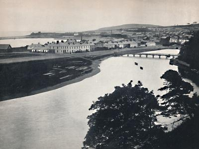 'Wicklow - General View of the Town and the River', 1895-Unknown-Framed Photographic Print