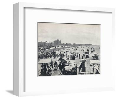 'Weston-Super-Mare - A Summer Scene on the Sands', 1895-Unknown-Framed Photographic Print