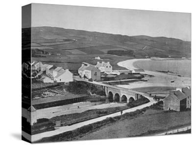 'Cushendun - The River, The Hills, and Cushendun Bay', 1895-Unknown-Stretched Canvas Print