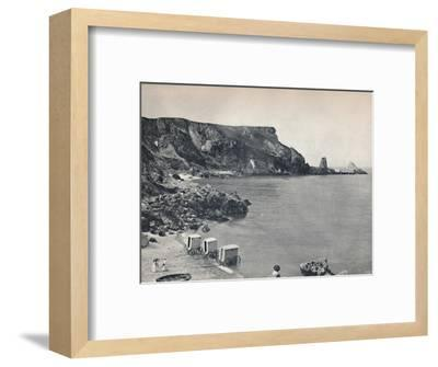 'Torquay - Anstey's Cove', 1895-Unknown-Framed Photographic Print