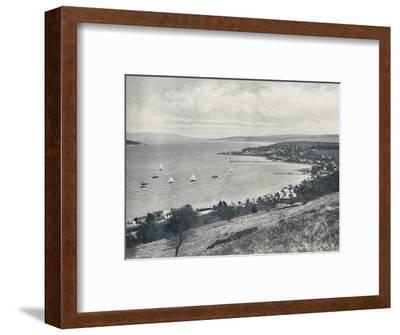 'Sandbank - From the East, Showing Sandbank and Kilmun', 1895-Unknown-Framed Photographic Print