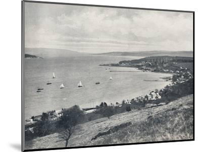 'Sandbank - From the East, Showing Sandbank and Kilmun', 1895-Unknown-Mounted Photographic Print