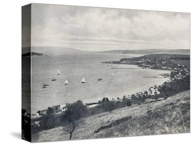 'Sandbank - From the East, Showing Sandbank and Kilmun', 1895-Unknown-Stretched Canvas Print