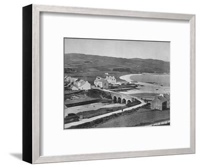 'Cushendun - The River, The Hills, and Cushendun Bay', 1895-Unknown-Framed Photographic Print