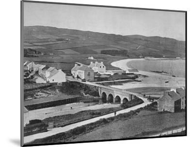 'Cushendun - The River, The Hills, and Cushendun Bay', 1895-Unknown-Mounted Photographic Print