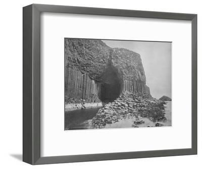 'Staffa - Fingal's Cave', 1895-Unknown-Framed Photographic Print