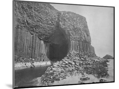 'Staffa - Fingal's Cave', 1895-Unknown-Mounted Photographic Print