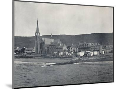 'Largs - From the Sea', 1895-Unknown-Mounted Photographic Print