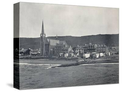 'Largs - From the Sea', 1895-Unknown-Stretched Canvas Print