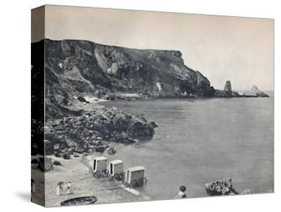 'Torquay - Anstey's Cove', 1895-Unknown-Stretched Canvas Print