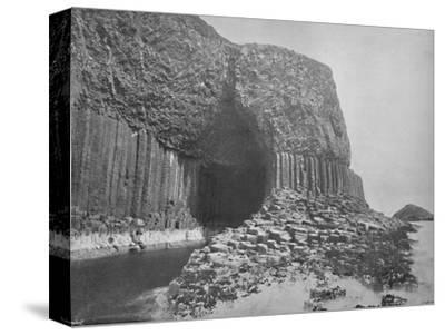 'Staffa - Fingal's Cave', 1895-Unknown-Stretched Canvas Print