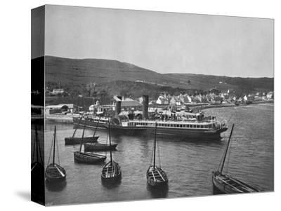 'Ardrishaig - The Steamer Columba at Ardrishaig Quay', 1895-Unknown-Stretched Canvas Print