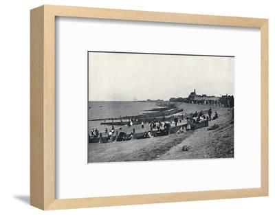 'Sheerness - The Promenade and Beach', 1895-Unknown-Framed Photographic Print