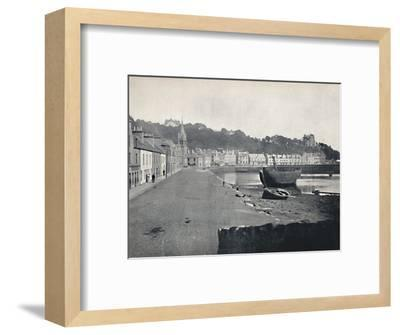 'Tobermory - General View of the Town', 1895-Unknown-Framed Photographic Print