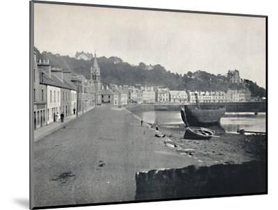 'Tobermory - General View of the Town', 1895-Unknown-Mounted Photographic Print