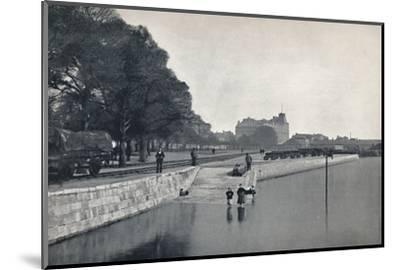 'Southampton - The Platform', 1895-Unknown-Mounted Photographic Print