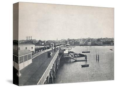 'Ryde - View from the Pier', 1895-Unknown-Stretched Canvas Print