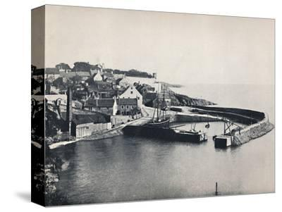 'Crail - The Village and the Harbour', 1895-Unknown-Stretched Canvas Print