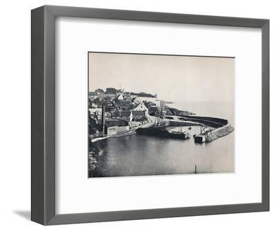 'Crail - The Village and the Harbour', 1895-Unknown-Framed Photographic Print